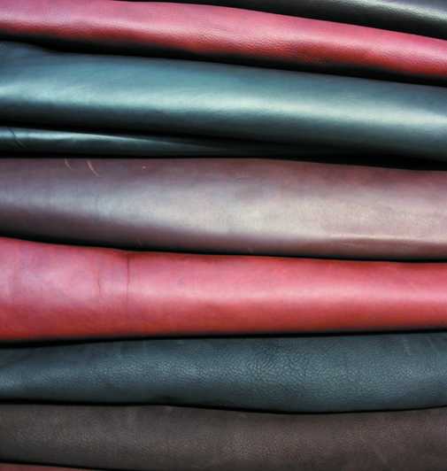 Pure vegetal tanned leather saddles